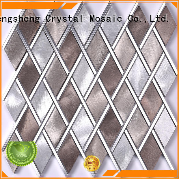 Heng Xing 2x2 mosaic floor tiles Supply for living room