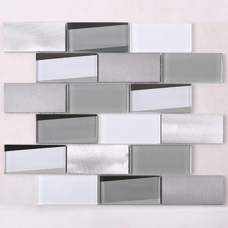 sale glass mosaic wall tiles wholesale for kitchen Heng Xing