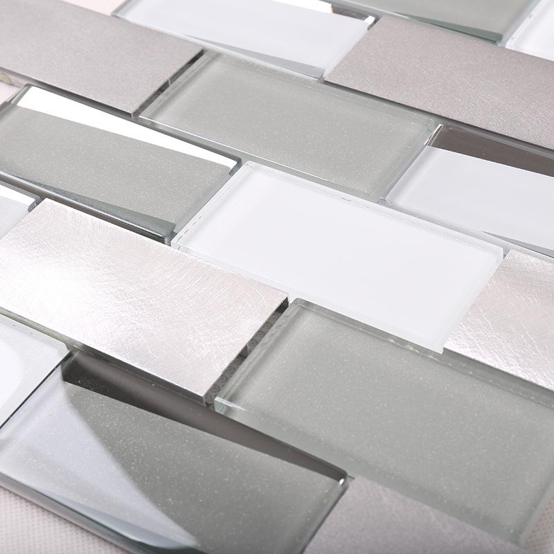 Heng Xing-glass metal mosaic tile | Glass Mosaic Tile | Heng Xing