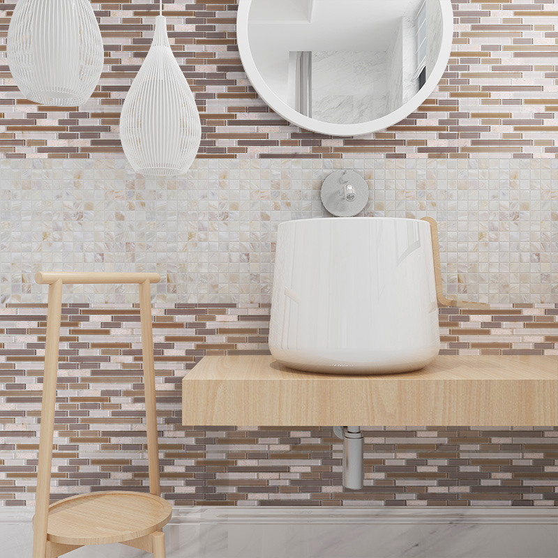 Heng Xing light copper mosaic tiles Supply for spa-7