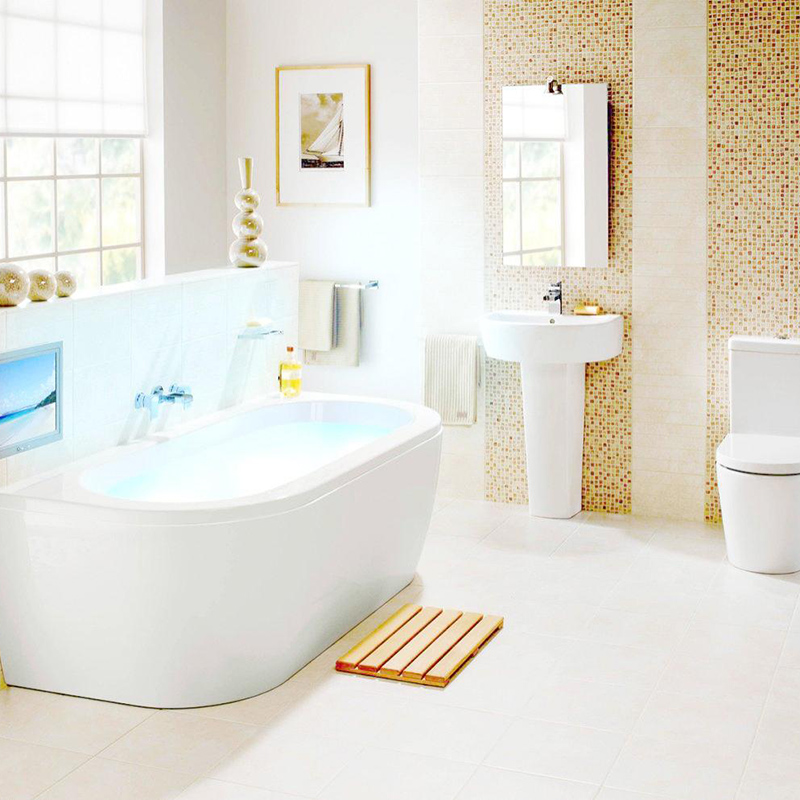 Heng Xing floor ceramic mosaic tile Suppliers for bathroom-6