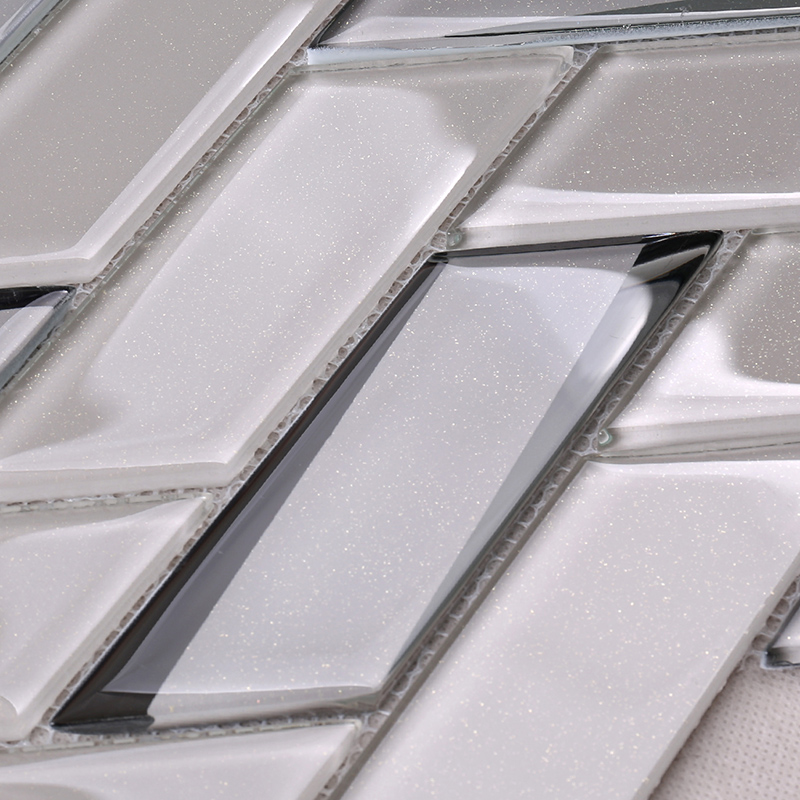 news-Heng Xing beveled clear glass tiles decor for living room-Heng Xing-img