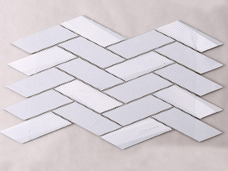 Heng Xing beveled clear glass tiles decor for living room-5