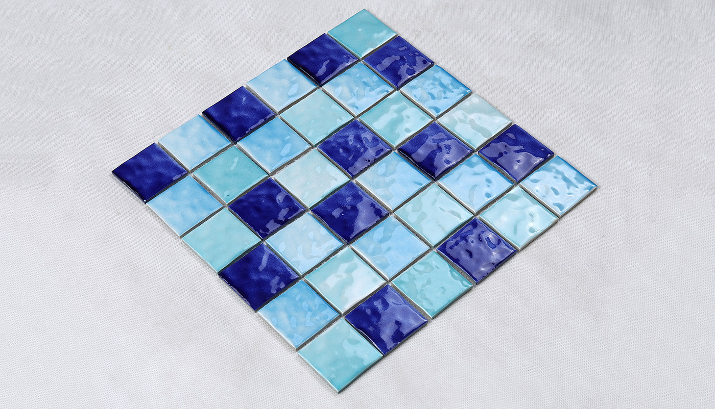 Heng Xing-Pool Glass Tile Blue Green Glass Tile Manufacture - Hengsheng