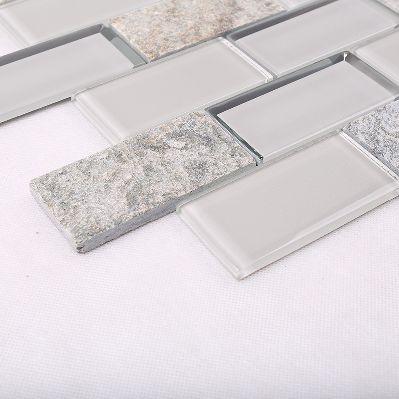 Heng Xing 3x4 glass wall tiles wholesale for living room-Glass Mosaic Tile- Stone Mosaic Tile- Pool -1