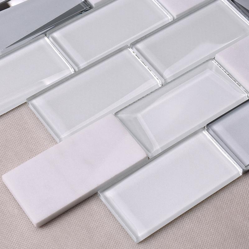 Heng Xing-kitchen backsplash tile   Glass Mosaic Tile   Heng Xing-1