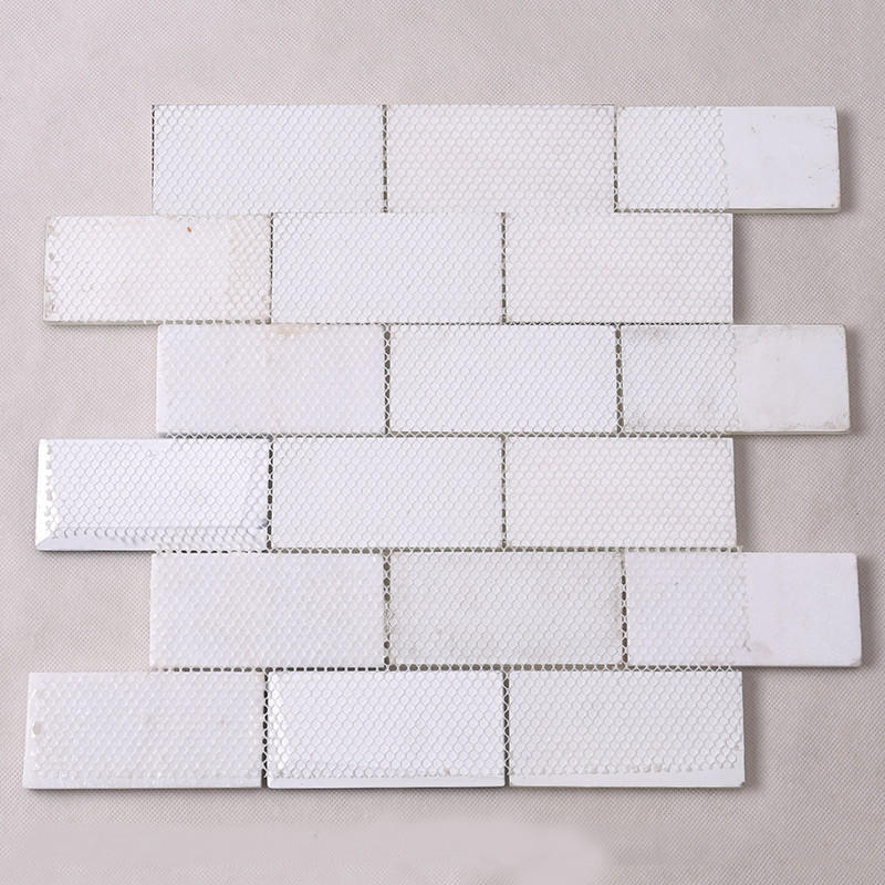 Latest mosaic floor tiles strip wholesale for living room