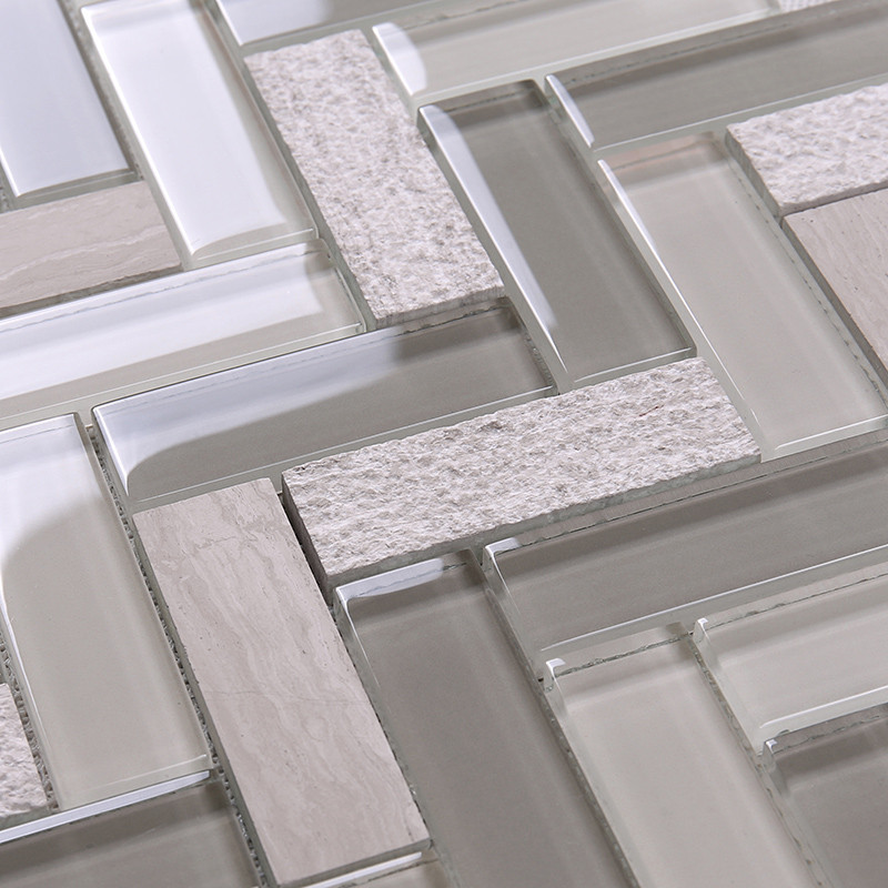 Heng Xing-Find Glass Metal Stone Mosaic Tile Red Glass Tile From Hengsheng-2