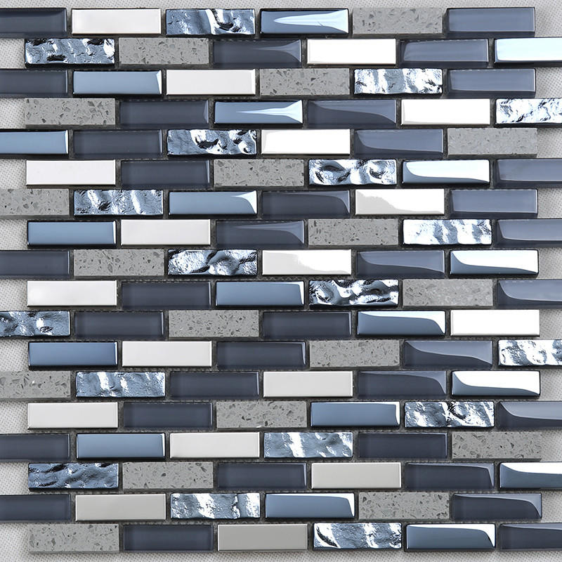 square herringbone mosaic tile supplier for living room Heng Xing
