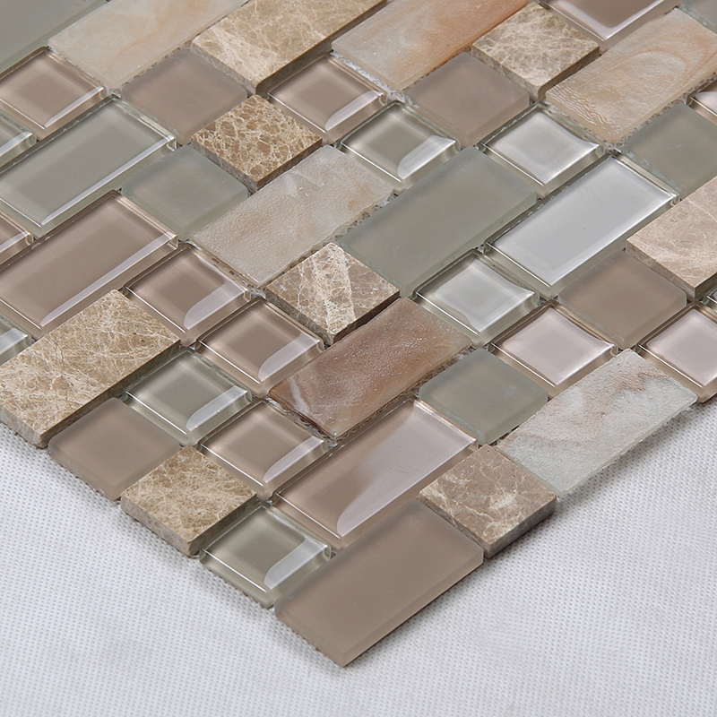 Heng Xing-white bevel tile | Glass Mosaic Tile | Heng Xing-1