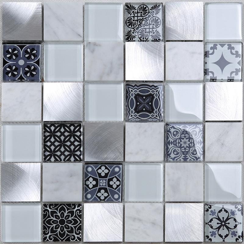 Heng Xing-Professional Kitchen Backsplash Hexagon Tile Blue Supplier-3