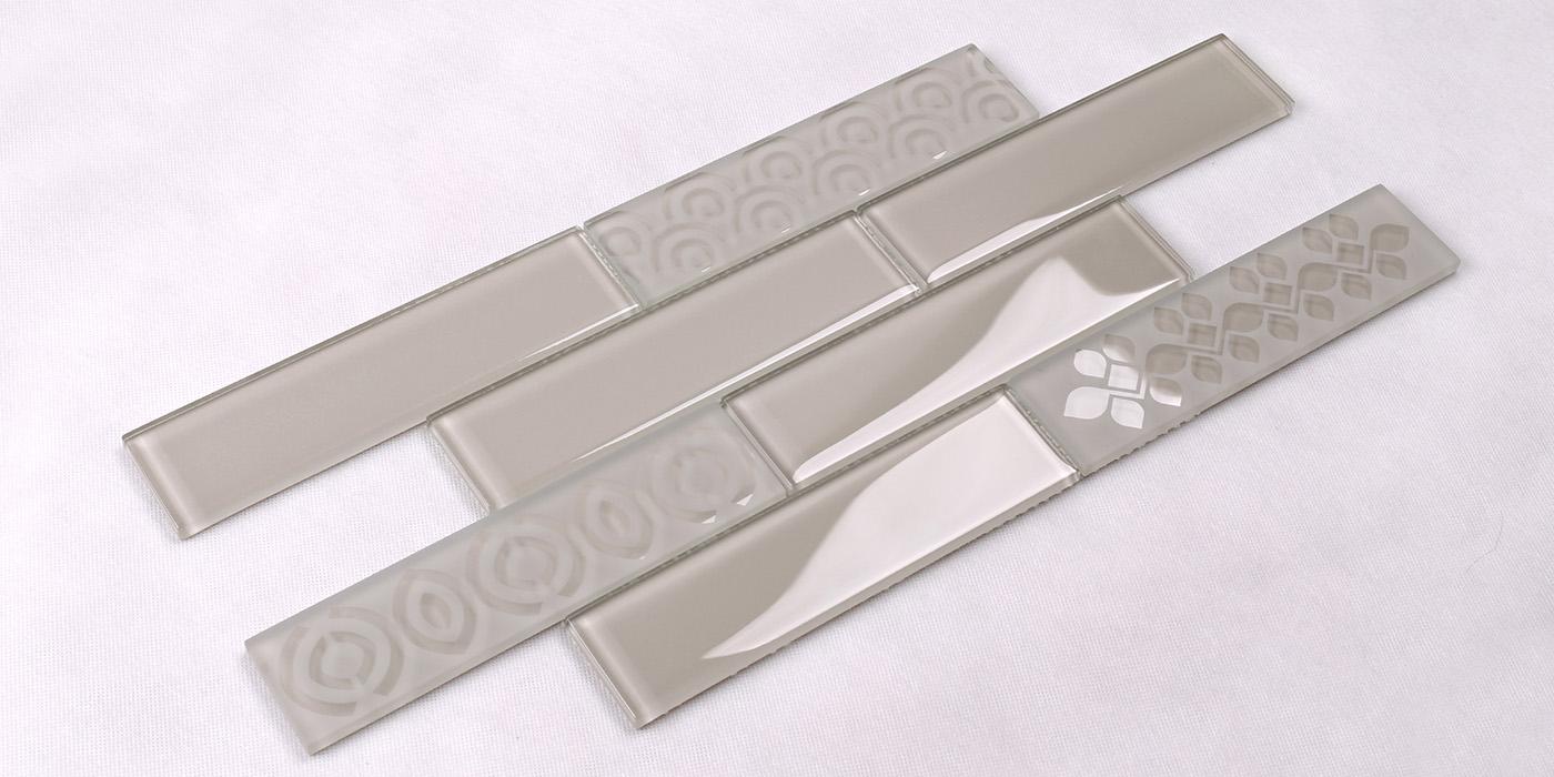 square beveled subway tile shower decor Suppliers for bathroom-1