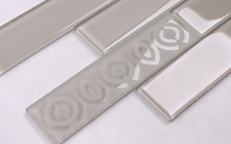square beveled subway tile shower decor Suppliers for bathroom-2