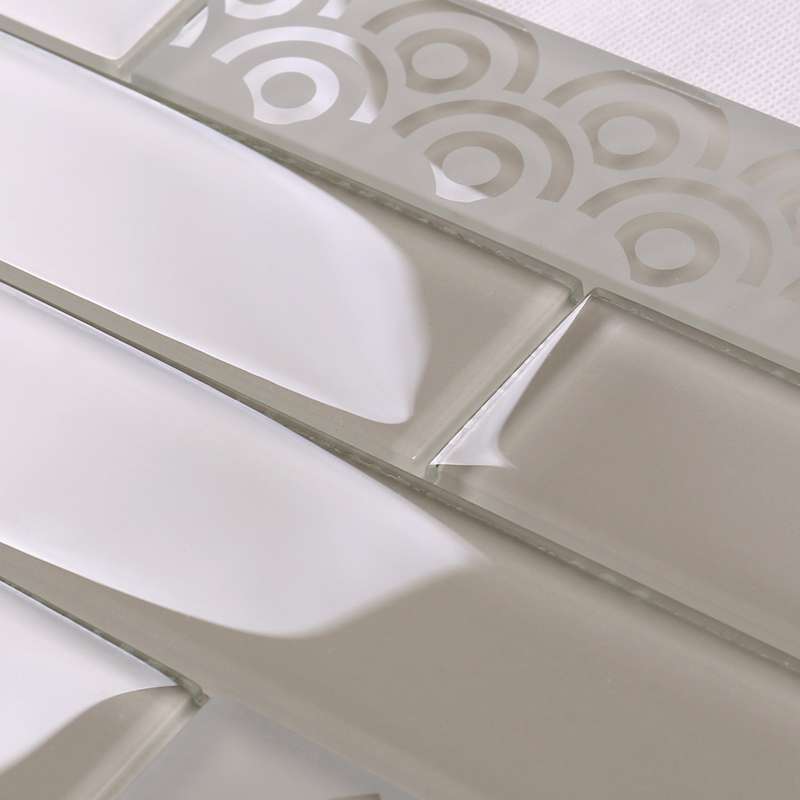 square beveled subway tile shower decor Suppliers for bathroom-3