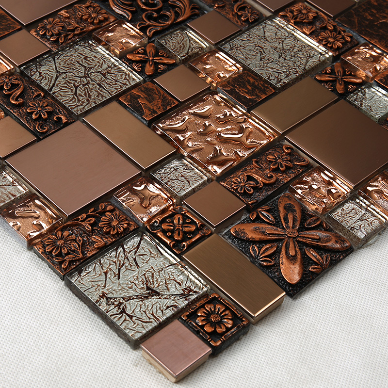 news-Heng Xing-Heng Xing pattern white glass tile supplier for kitchen-img