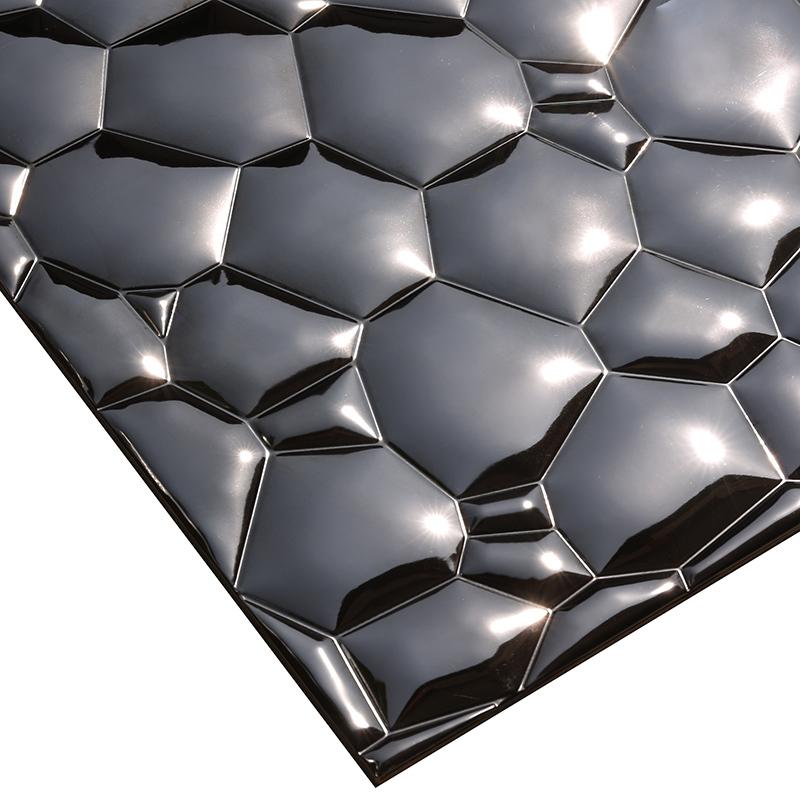 Heng Xing-stainless steel kitchen backsplash | Metal Mosaic Tile | Heng Xing