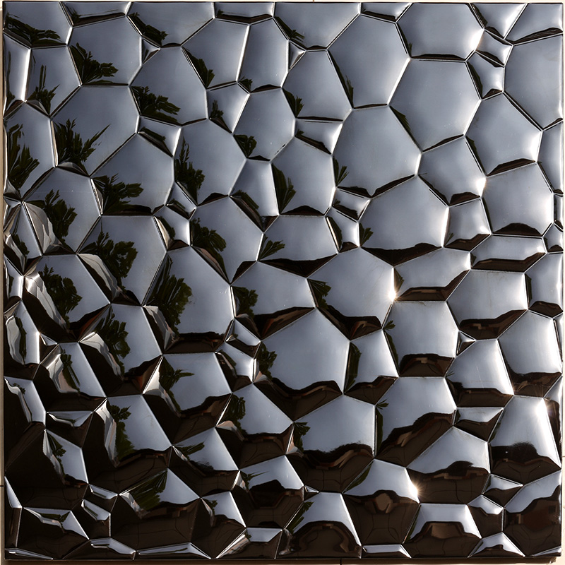 Heng Xing-Stainless Steel Backsplash Tiles Aluminum Mosaic Tile - Hengsheng-3