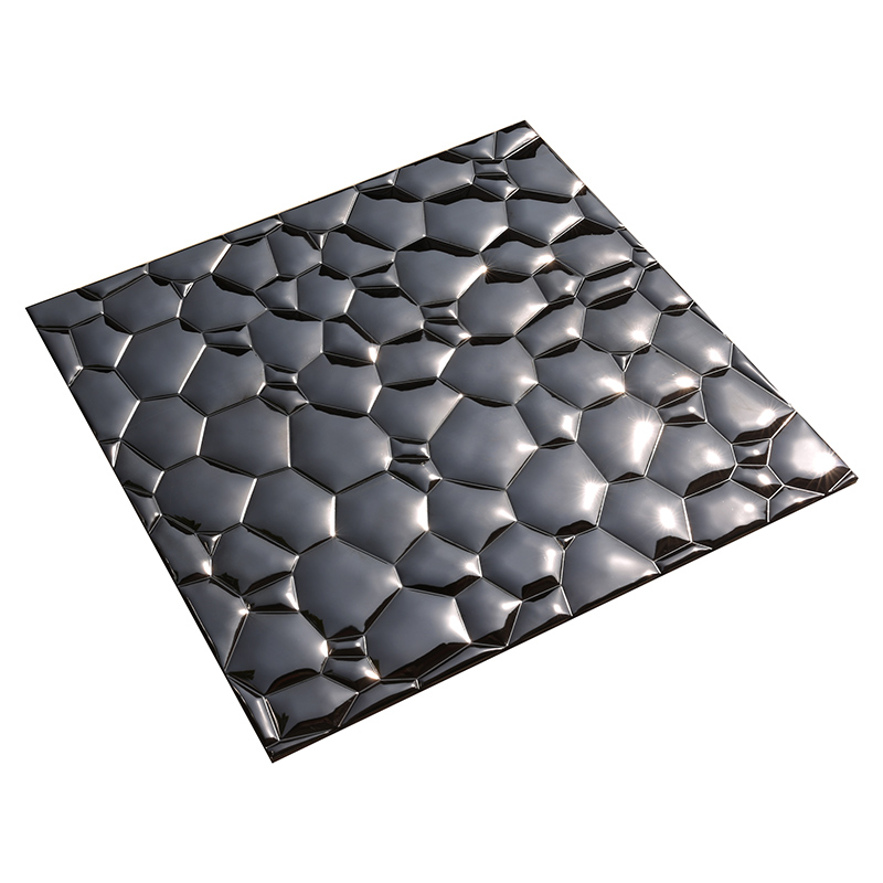Heng Xing-Stainless Steel Backsplash Tiles Aluminum Mosaic Tile - Hengsheng-4