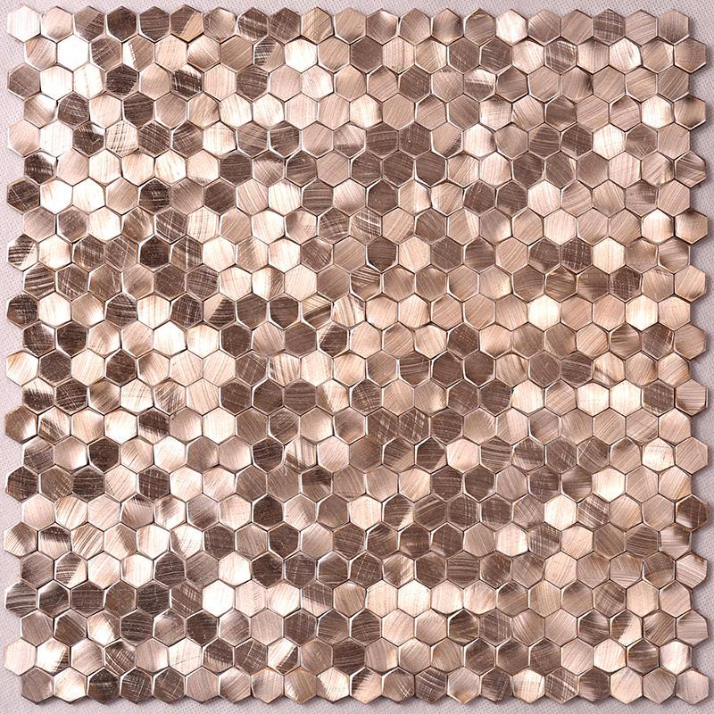 home preminum aluminum mosaic tile customized for restuarant