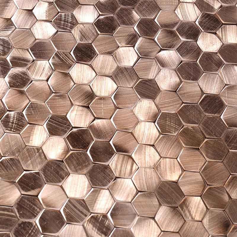 Top aluminum mosaic tile outdoor customized for restuarant-3