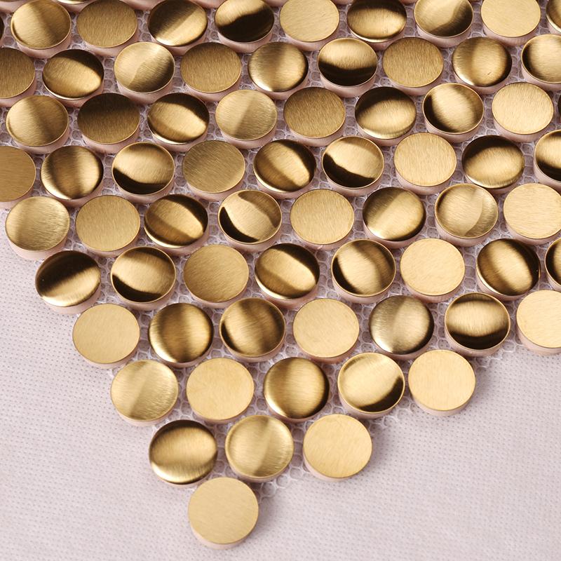 Heng Xing-metal tiles   Metal Mosaic Tile   Heng Xing