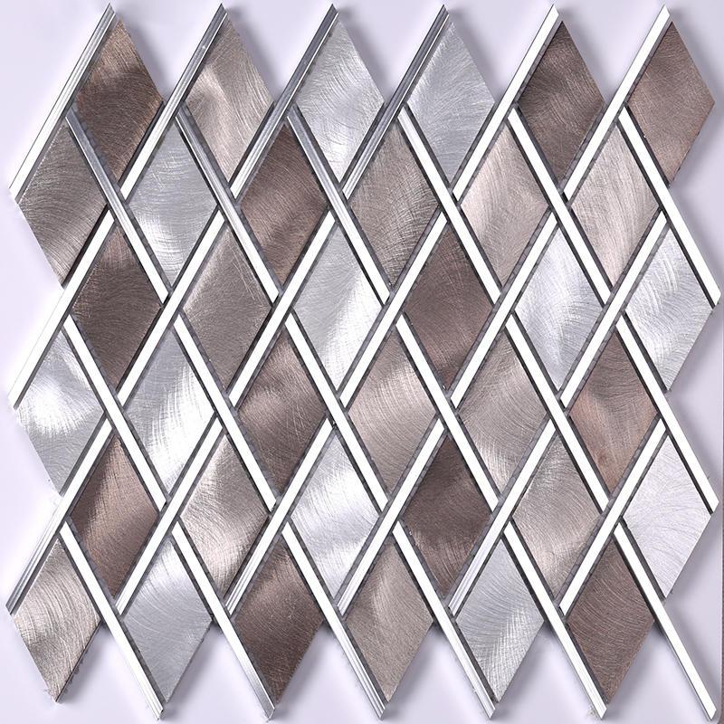 golden metal mosaic series for restuarant