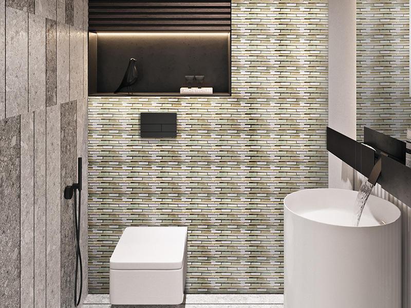 HSD112 Ceramic Mosaic Strip