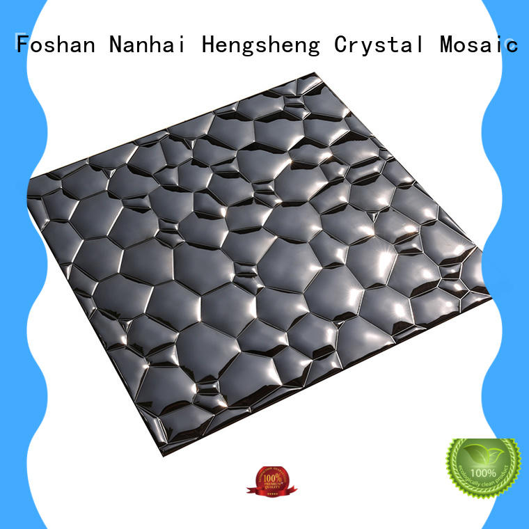 penny metal mosaic tile aluminum for living room Heng Xing