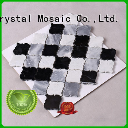 Carrara carrara marble mosaic tile manufacturer for backsplash Heng Xing