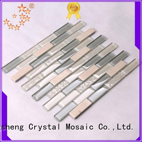 Hengsheng Brand marble stone swimming pool mosaics engraved