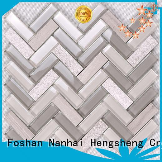 subway inkjet tile wholesale for villa Heng Xing