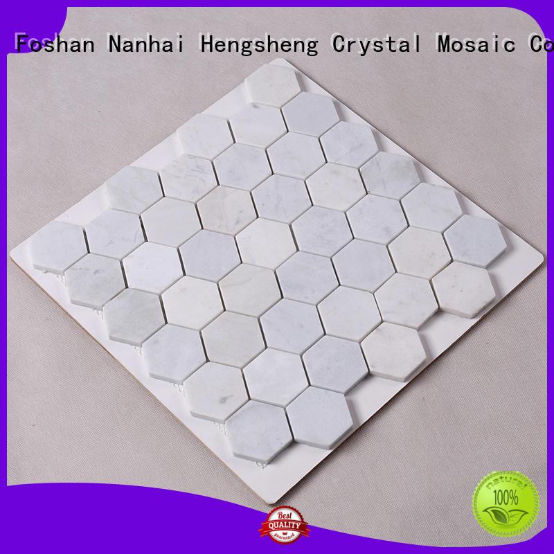 Quality Hengsheng Brand stone tile backsplash floor