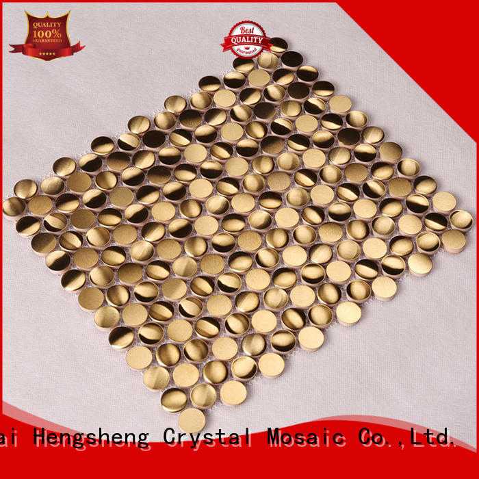 outdoor mosaic metal mosaic glass Heng Xing Brand