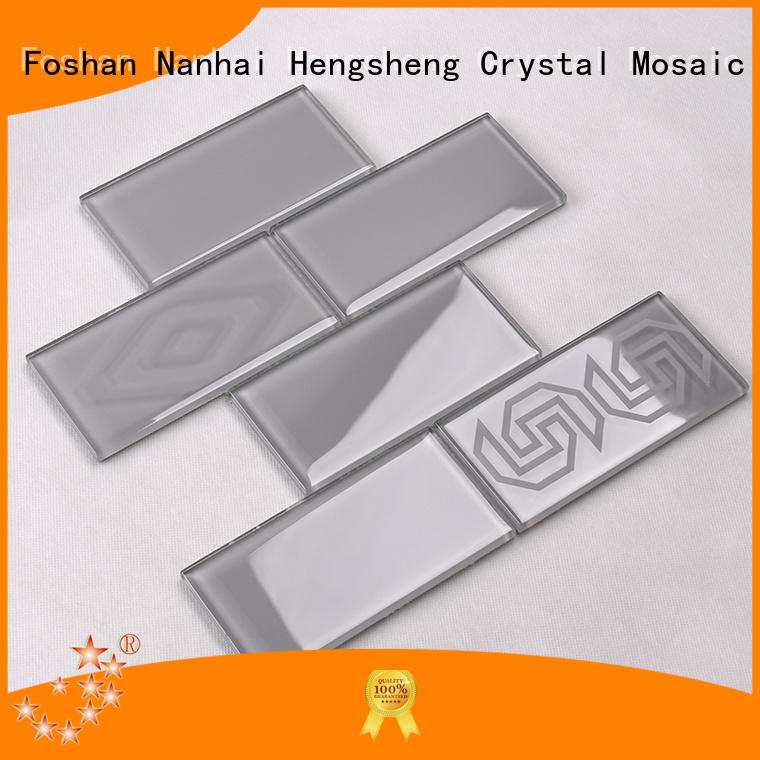 beveling hexagon wall tile supplier for villa Heng Xing