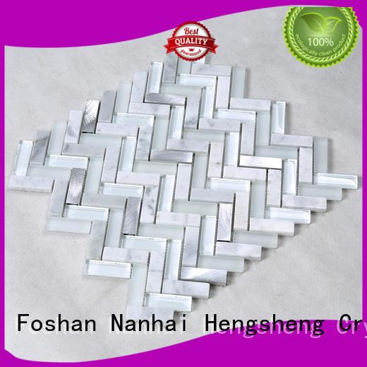 Wholesale engraved light pool tile Hengsheng Brand