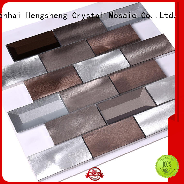 Heng Xing Brand effect penny stainless metal mosaic