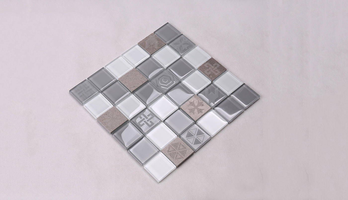 Heng Xing-Professional Grey Pool Tiles Blue Water Pool Mosaics Supplier