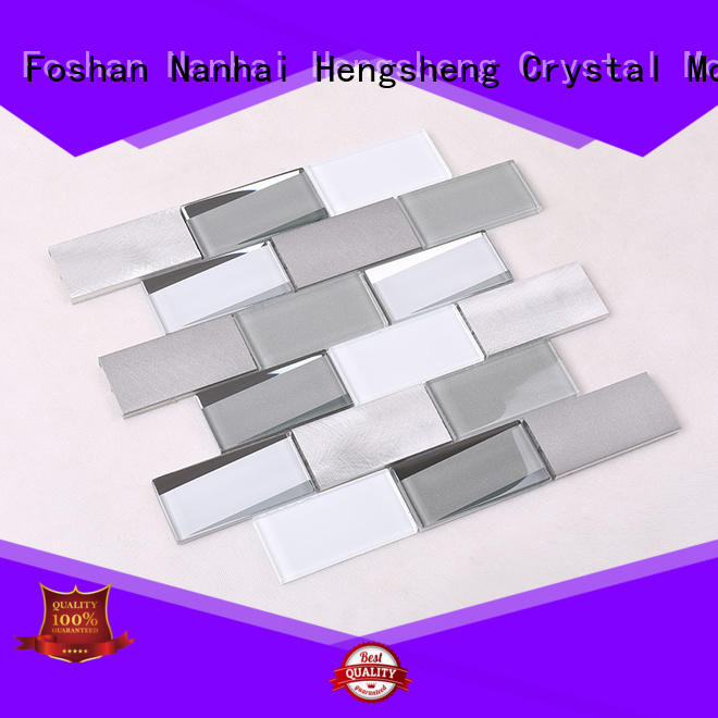 tile printing blast 3x4 glass tiles for kitchen Heng Xing Brand