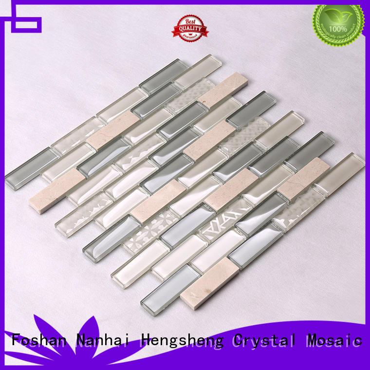 beveling 3d mosaic tile for kitchen