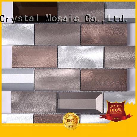 Heng Xing black metal mosaic manufacturers for kitchen