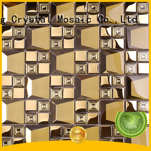 Heng Xing beveling mosaic glass personalized for bathroom