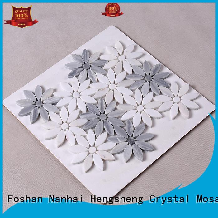 Heng Xing beautiful stone tile backsplash