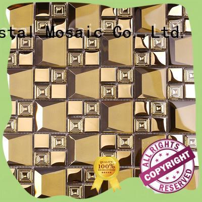 squareglass mosaic tile printing supplier for villa