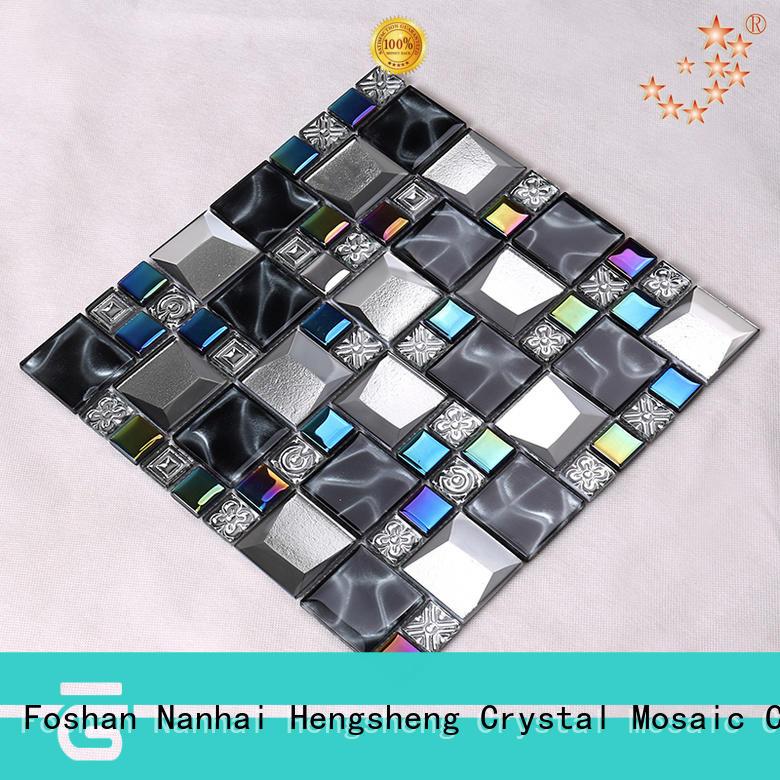 wall mosaic kitchen backsplash factory price for bathroom Heng Xing