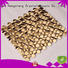 indoor metal mosaic stainless cube Hengsheng company