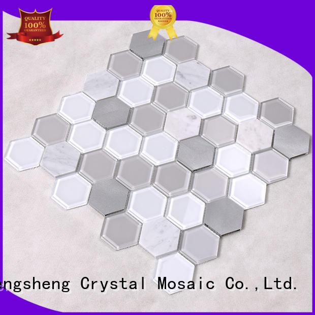 tiles hexagon tile personalized for villa Heng Xing