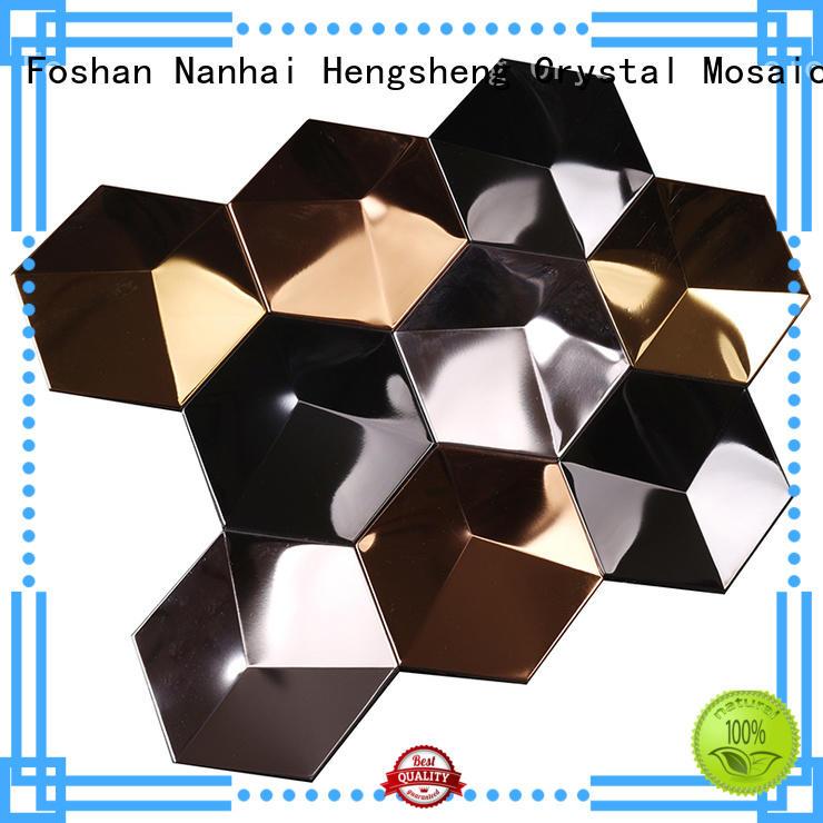 Hot metallic kitchen wall tiles water Hengsheng Brand