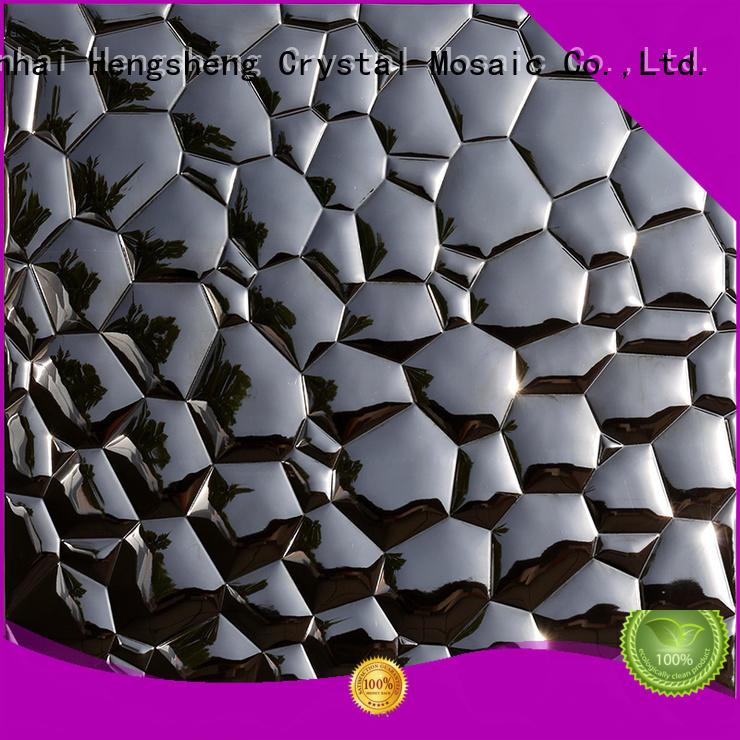 aluminum metal mosaic customized for hotel Heng Xing