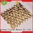backsplash copper metal mosaic Hengsheng Brand
