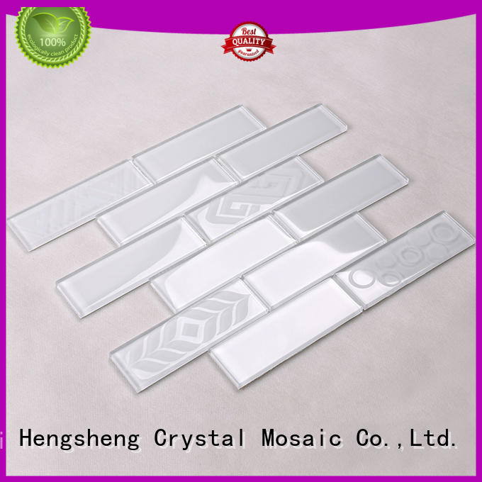 glass tiles for kitchen beveled cold glass mosaic tile manufacture